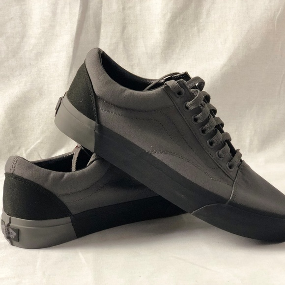 e6ab45a31e Vans Old Skool DX Blocked Pewter Black Sneakers